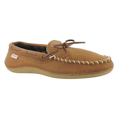 SoftMoc Men's Gary Plaid Lined Moccasin
