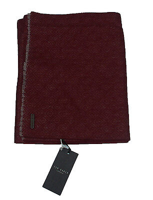 Brand New Mens Ted Baker 'Mayfair' red scarf