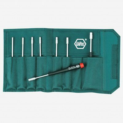 Wiha 26598 8 Piece Precision Metric Nut Driver Pouch Set