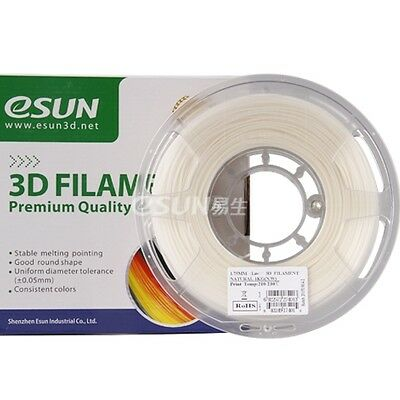 eSun FLEXIBLE Natural White FLEX 1kg 1,75mm Drucker Filament PREMIUM TPU TPE TPC
