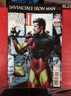 Marvel Invincible Iron Man #14 NM+ Key Issue
