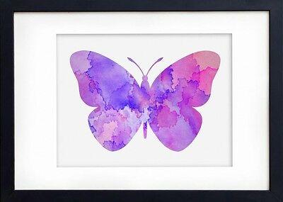 Watercolour Art Print of Original Painting - Butterfly - Illustration NO.2Wa