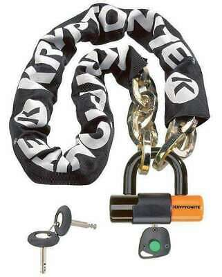 KRYPTONITE Bicycle Cycling New York Chain 12mm x 100cm With Disc Bike Lock