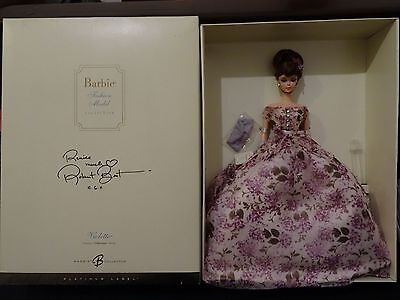 Nrfb Silkstone Barbie Violette Platinum Label Doll Vhtf Signed By Robert Best