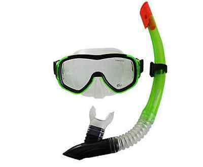 Hammerhead Explorer Mask & Snorkel Set- Green