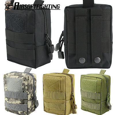 1000D Outdoor Molle Waist Bag Magazine Medical Pouch Hunting Paintball