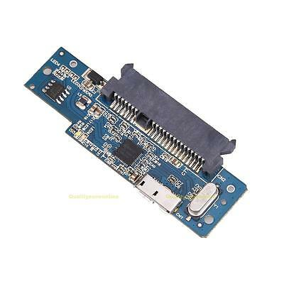 Super Speed USB 3.0 To SATA 22 Pin 2.5 Inch Hard Disk Driver SSD Adapter Card