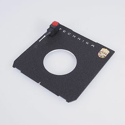 `Linhof Technika Large Format Copal 1 QuickSocket Cable Release Lens Board