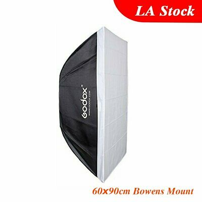 "Godox Collapsible 60x90cm 24""x35"" Softbox Bowens Mount Speedring for Flash US"