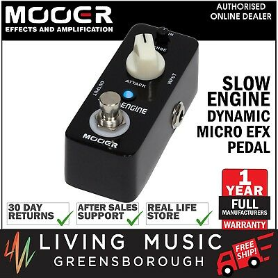 NEW Mooer Slow Engine Micro Electric Guitar Effects Pedal True Bypass