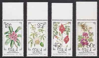 SOUTH-WEST AFRICA - 1990 - Flowers. Complete set, 4v. Mint NH
