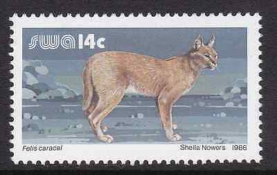 SOUTH-WEST AFRICA - 1986 - Wildlife. Individual stamp, 1v. Mint NH
