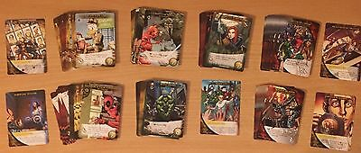 2015 Upper Deck Marvel 3D Legendary Full Playset of 95 Playable Cards FREE SHIP