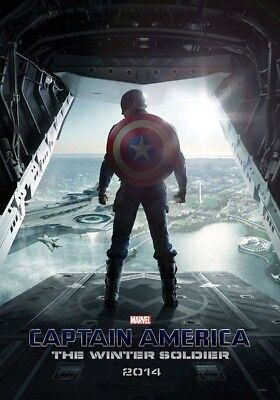 CAPTAIN AMERICA THE WINTER SOLDIER MOVIE POSTER 2 Sided ORIGINAL Ver B 27x40