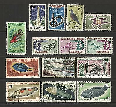 France New Caledonia ~ 1964-65 Small Used Collection