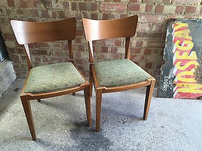 G Plan Dining Chairs Vintage Pair