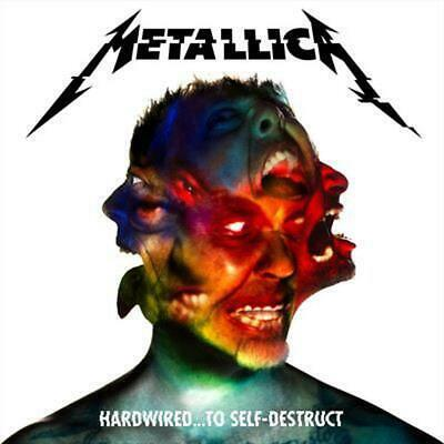 Hardwired... To Self Destruct Deluxe 3 CD Edition - Metallica CD Free Shipping!