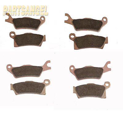 Fr+R Sintered Brake pads Fit 2015 Can-Am Renegade 1000 Severe Duty