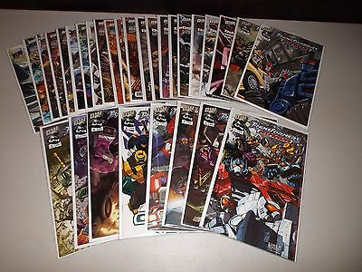 Transformers Armada / Energon #1-30 (Complete 2002 DW series) Full lot set run
