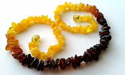 Elegant Female Necklace From Natural Baltic Amber