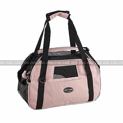 Petcomer Pet Dog Cat Puppy Carrier Fabric Bag Travel Cage Crate Airline Tote OZ