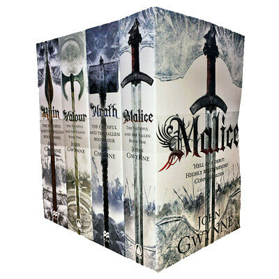 Faithful and the Fallen Series 4 Books Collection Set By John Gwynne Wrath,Ruin