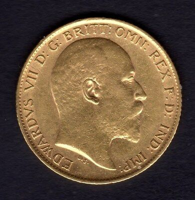 1909 Half Gold Sovereign Great Gift