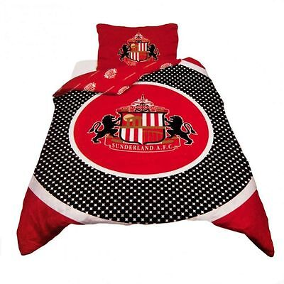 Sunderland FC Bullseye Reversible Single Duvet Set