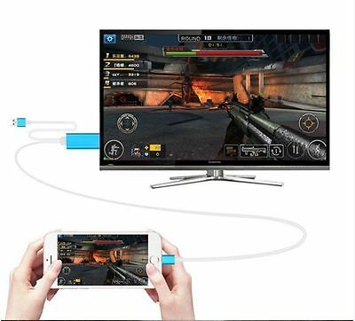 Lightning To AV HDMI/HDTV TV Cable Adapter for apple iphone 5 5C 5S 6 6S 7 plus
