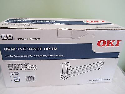 BRAND NEW Oki C831N C831DN Imaging Drum - 30000 Page (44844416) BLACK