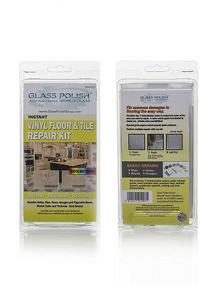 GP91007 DIY Vinyl Floor and Vinyl Tile Repair Kit, for tears, rips, holes, marks
