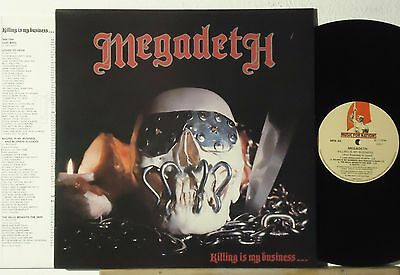 Megadeth : Killing Is My Business...and Business Is Good!   -   1985  Lp  France