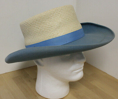 Vintage Hat Custom Made Texas Hatters Half-Breed by Manny Hat Maker for the Star
