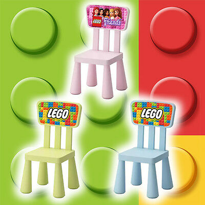 Childrens Ikea Lego Chair - Perfect for Bedrooms and Playrooms - Lego Friends