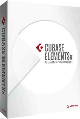 New Steinberg Cubase Elements 8 FULL EDU Music Recording Software Mac PC