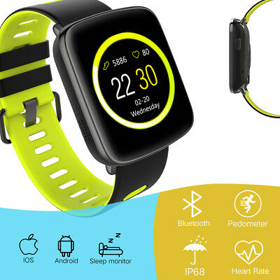 Bluetooth Smart Watch Phone Mate Pedometer Touch SIM GSM For iPhone Samsung