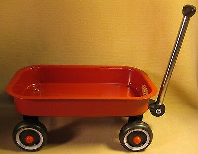 """Little Red Wagon Toy Bed Dimensions 12.5"""" x 7.5"""" x 2"""" For Ages 3+ Years Kids Toy"""