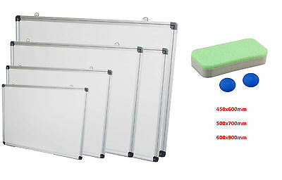 Dry Wipe Whiteboard Drawing Magnetic School Office Small, Medium, Large