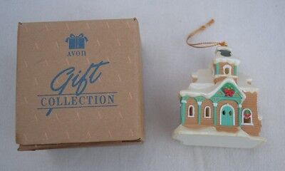 Avon Gifts Snow Frost Falls Victorian Village Light Cover House