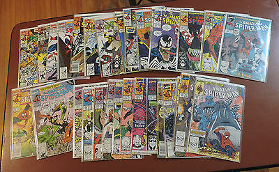 The Amazing Spider-Man #329-360 complete set vf/nm!