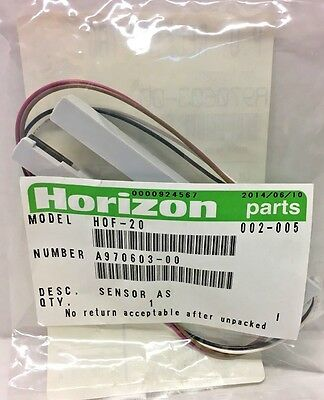 Horizon, A970603-00, Sensor AS, HOF-20 Sheet Feeder (OEM / NEW)