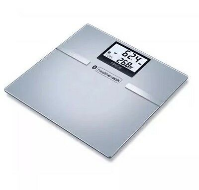 Sanitas SBF 70 Bluetooth Diagnostic Scale Body Fat Water & Muscle 180 Kg