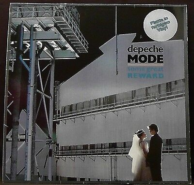 DEPECHE MODE SOME GREAT REWARD 1984 MUTE Records GREY LP Synth Pop
