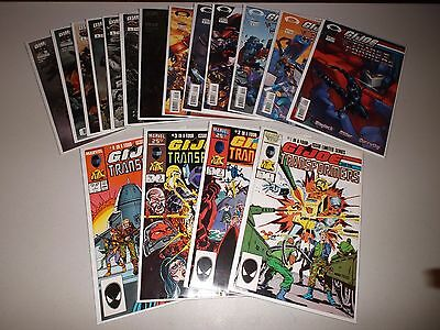 Transformers vs GI Joe (Lot of 16) Marvel #1-4, Image #1-6, DW 1-6   and the