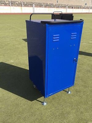 Equestrian Tack Lockers With Heavy Duty Wheels - In Red Blue Or Pink