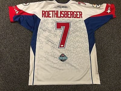 Ben Roethlisberger Pittsburgh Steelers Signed Pro Bowl 50 Football Jersey  Jsa 1e308c59e