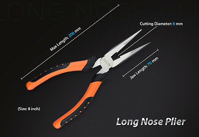 SUNTIN 8″ Inches Long Nose Plier
