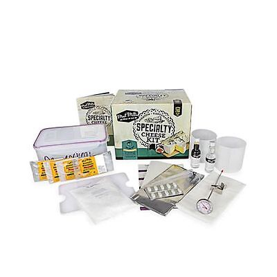 Beginners Specialty & Cultures Homemade Cheese Ingredients Equipment Starter Kit