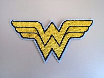 New Wonder Woman DC Superhero Embroidered Patch Applique Badge Iron Sew On