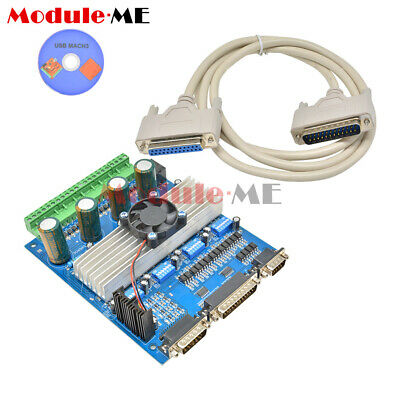Controller Board for Engraving Machine CNC TB6560 4 Axis Stepper Motor Driver MO